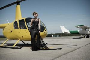 Hélicoptère et mariage
