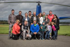 Vol hélicoptère pour équipe