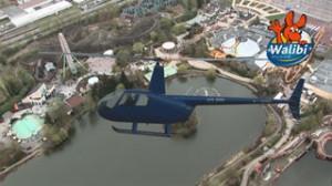 Mission Walibi en hélicoptère